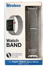 Apple Watch Silver Band For 38/40 Magnetic Clasp