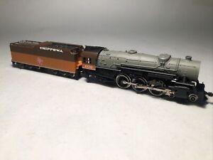 N Scale 4-6-2 Con Cor Milwaukee Chippewa Steam Locomotive #6138