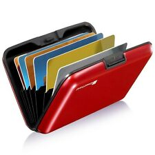 GreatShield RFID Blocking Wallet [8 Slots   Aluminum] Portable Travel Identit...