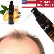Herbal Hair Regrowth Ginger Spray Fast Hair Growth Anti Loss Treatment Hair Oil