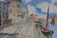 Venedig Ölgemälde signiert Muller (19)36