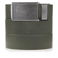 """SlideBelts Men's Olive Drab Survival Strap (1.25"""") w/ Standard Ratchet Buckle"""