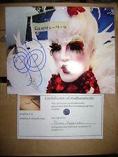 Prince Poppycock Signed Burlesque Autograph Proof COA  A
