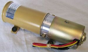 NEW 1961-1965 Lincoln Continental Convertible Top Motor Pump - High Volume