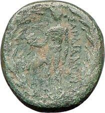 Sardes in Asia Minor 133BC  Ancient Greek Coin Nude Apollo Hercules   i27815