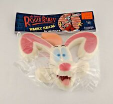 Who Framed Roger Rabbit Wacky Heads Hand Puppet - New in Package - Vintage