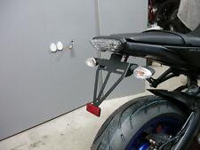 Kennzeichenhalter Yamaha MT09 mitLED Kennzeichenleuchte support d.plaque bracket