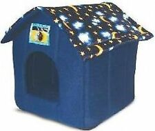 Just 4 Pets House Bed Moon & Stars Blue Ancol 553500
