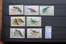 STAMPS NORFOLK ISLANDS YVERT N°116/22 BIRDS MNH** (F102224)