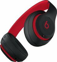 Beats by Dr. Dre Studio3 Headband Wireless Headphones-Defiant Black/Red BRANDNEW
