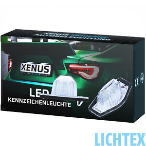 LED Kennzeichenbeleuchtung für Honda CR-V FR-V HR-V Jazz Logo Stream Umrüst-Satz