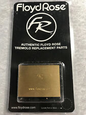 Real Floyd Rose Brand 37mm Brass Big Block - Made By Floyd Rose For Floyd Rose