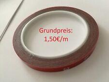 3M VHB 3 Meter Doppelseitiges Klebeband Klebestreifen Spoiler Lippen Flaps 10mm