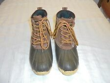 RedHead Insulated Leather / Rubber Duck Snow Hunting Boots WOMENS SZ 6