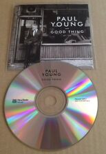 Paul Young - Good Thing 10 Trk Promo Cd Album Rare! 2016 80's Eighties Interest