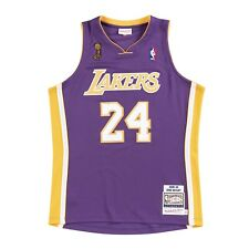 Men's Los Angeles Lakers Kobe Bryant Mitchell Ness Purple 2008-09 HWC Pro Jersey