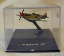 WW II Supermarine Spitfire Mk.VIII Diecast Model Plane by NewRay w/Display Case