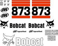 873 g new decal kit / sticker set skid loader skid steer xgx decals fits bobcat