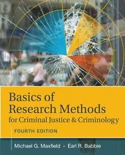 Basics of Research Methods for Criminal Justice and Criminology, Maxfield, Micha