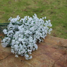 Fake Bouquet White Artificial Party Wedding Gypsophila Baby Breath Home Decor GD