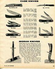 1975 Print Ad of Case Pocket Knives M3FINN SSP 2138 6265 C61050 6111 6254 6347