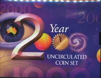 Australia, 2000 Uncirculated Mint set of 6 coins