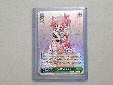 Weiss WeiB Schwarz Madoka Magica Secrecy Madoka MM/W17-022SP Signed Card