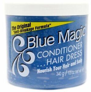"Blue Magic Conditioner Hair Dress The Original ""Anti-Breakage Formula"" 340g"
