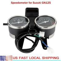 For Suzuki GN125 LED Motorcycle Accessories Speedometer Odometer Tachometer US