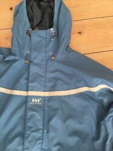 "Helly Hansen Womens Ski Snowboard Winter Jacket Coat - Blue - Reflective - 48"""