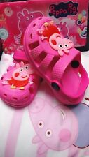 Peppa Pig Sand cores Rose Pink girl's Shoes size:6�7�8�9�10
