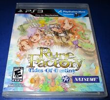 Rune Factory: Tides of Destiny Sony PlayStation 3 *Factory Sealed! *Free Ship!