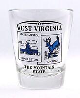 WEST VIRGINIA STATE SCENERY BLUE NEW SHOT GLASS SHOTGLASS
