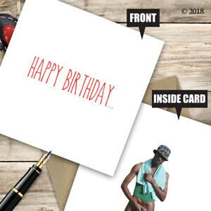 Rude Birthday Greetings Card Funny Adult Cheeky Quirky Insult Friend Mate D66