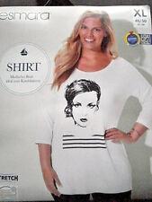Damen - Stretch Shirt  Gr.48/50