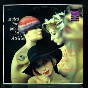 ATTILIO MINEO styled for you  LP VG+ LN 3429 Mono Epic 1st Press Vinyl Record