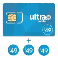 Ultra Mobile $49 Plan for 3 Months + 4th Month Free