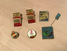 Lot of Vintage Badges - Olympics /World Championships - Competitors ? - Lot 7