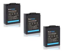 3x CGR-S006E S006E DMW-BMA7 Battery Pack for Panasonic FZ8 FZ7 FZ50 FZ38 FZ35