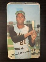 1970 TOPPS SUPER ROBERTO CLEMENTE CARD #12 PITTSBURGH PIRATES HOF