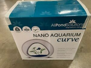 NANO CURVE ACRYLIC FISH TANK 6L - PINK