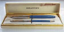 Sheaffer Lifetime Snorkel Fountain Pen & Pencil Set New Old Stock In Box