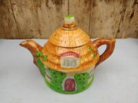Vintage Cottage Ware Pouring Honey Pot Japanese Styled like a Teapot