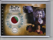 Buffy tVS 10th Anniversary Pieceworks Card PW-4 Willow - Patch Variant + PR-2