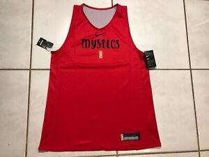 NWT Washington Mystics WNBA Reversible Practice Jersey Women's XL-TALL