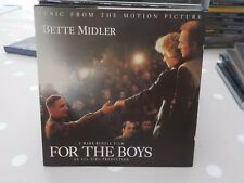 BETTE MIDLER FOR THE BOYS - MUSIC FROM THE MOTION PICTURE MUSICAL FILM 1991 CD