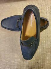 New Franco Vanucci Men's Size 10.5 Blue Fashion Slip On Driving Shoes Drive