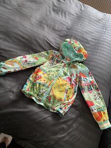 Oilily Girls Rain Jacket, Age 8 Years