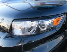 08-2015 Scion XB pre-cut Headlight Eyelid Overlays- Black vehicle graphic film
