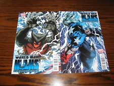 Marvel - World War Hulks Wolverine vs Cap #1 and #2 Set! Glossy Vf/Vf+ 2010